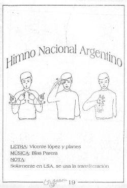 Himno Nacional Argentino En Señas